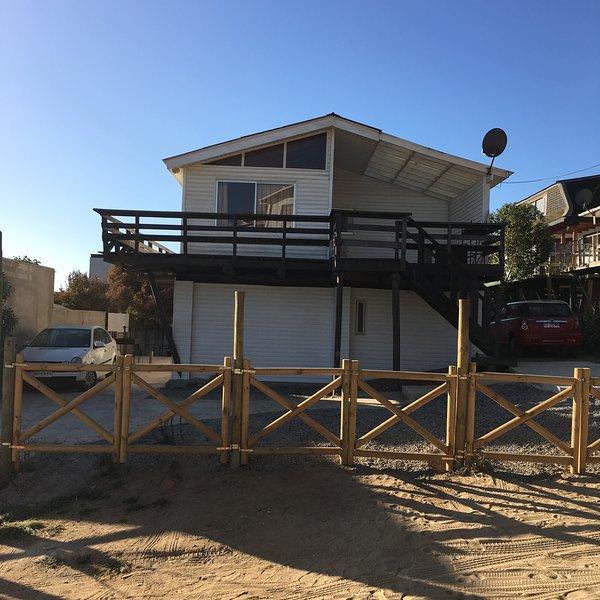 Cabañas en Algarrobio Norte  una cuadra de la playa