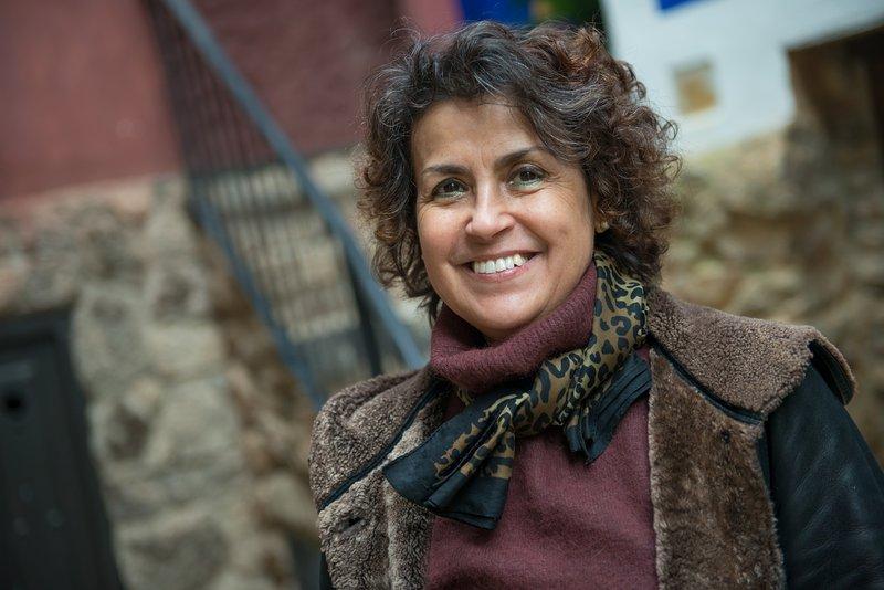 Pilar, the owner.