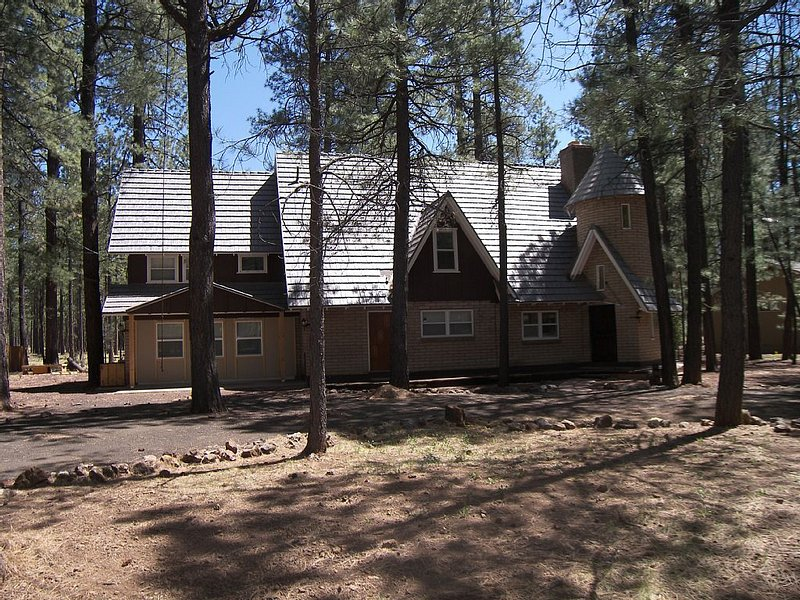 Escape the Summer heat in the cool pines! Cabin Summer View