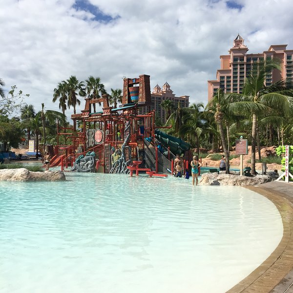 Kid's play area at Aquaventure