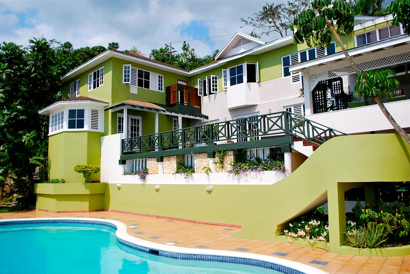 Located in the upscale Kingston community of Stony Hill, this villa offers breathtaking views.