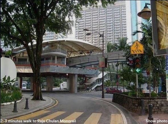 5 minutos a Raja Chulan Monorail