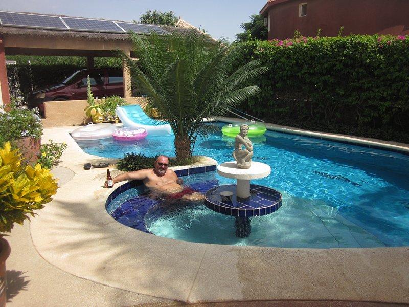 Solar pool pump no Sénélec