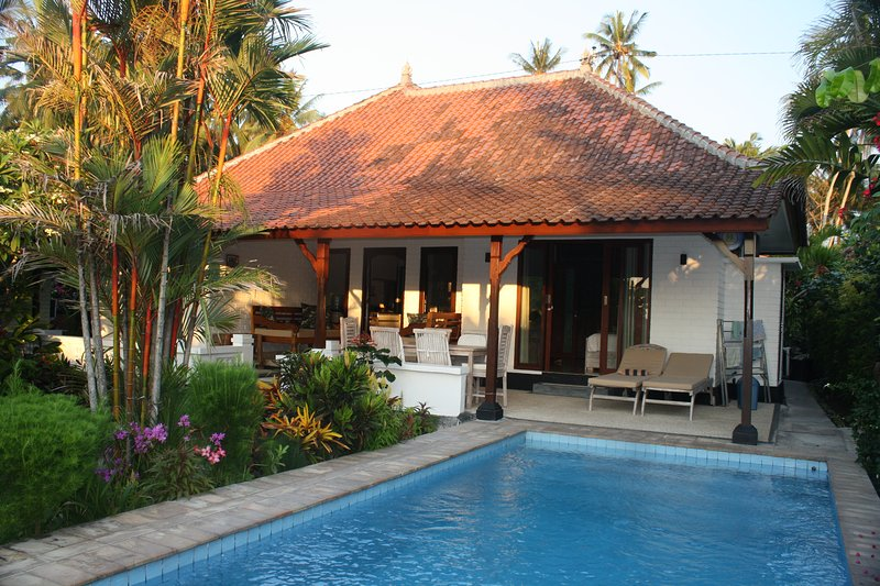 Beachfront villa, with private pool & close to surf: Cool Bali Villas, holiday rental in Bukit