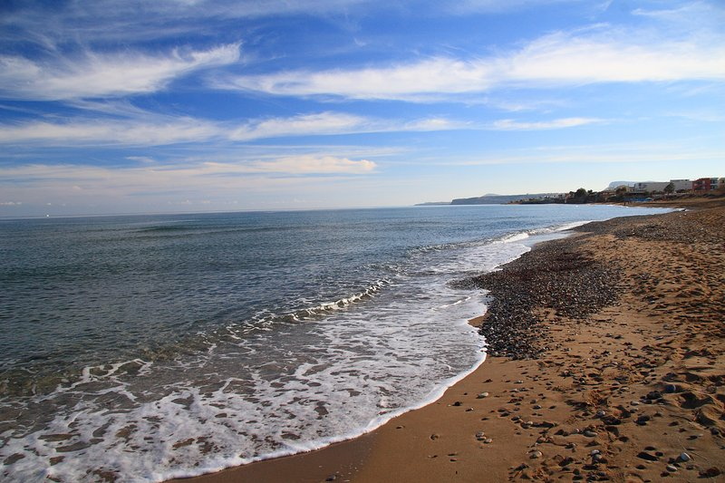 The beautiful Sfakaki beach