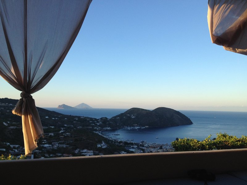 Villa Marta, the view from the terraces