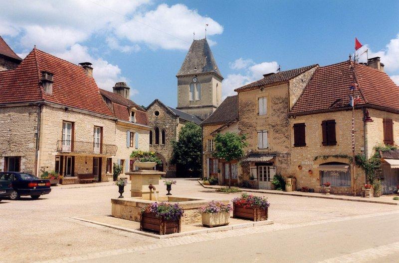 El pintoresco pueblo de Daglan