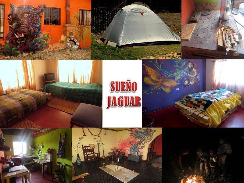 Hospedaje en casa rústica de campo en Suesca, aluguéis de temporada em Zipaquira