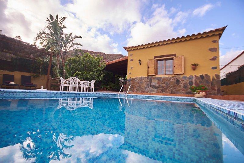 la almendra casa de campo con piscina privada, Ferienwohnung in Gran Canaria