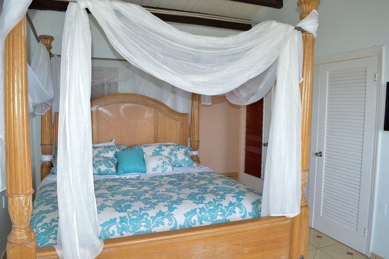 Bedroom # 1 overlooking ocean