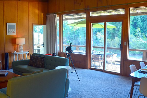 Riverview, Riverfront Vacation Rental, Guerneville, CA
