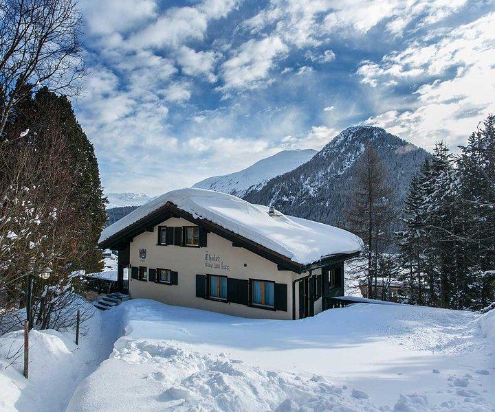 Chalet vue au lac - Ferienwohnung 2, alquiler de vacaciones en Klosters