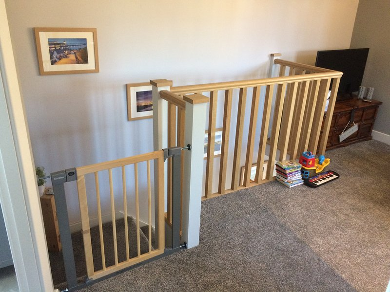 A stair gate can be fitted free of charge - The Annex at Birch House