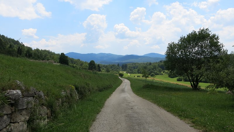 Gradenc Estate local landscape