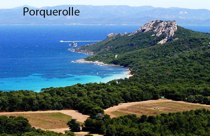 Porquerolle est la plus grande et la plus belle des îles d'Hyères