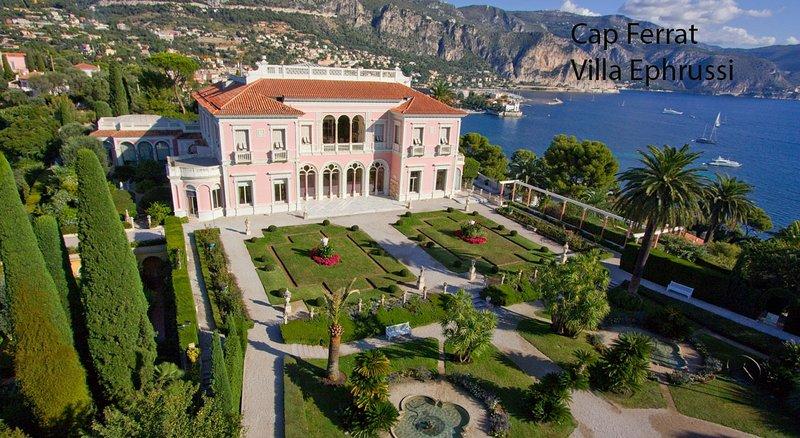 CAP FERRAT Villa Ephrussi = Il est l'un des plus beaux endroits de la Côte d'Azur