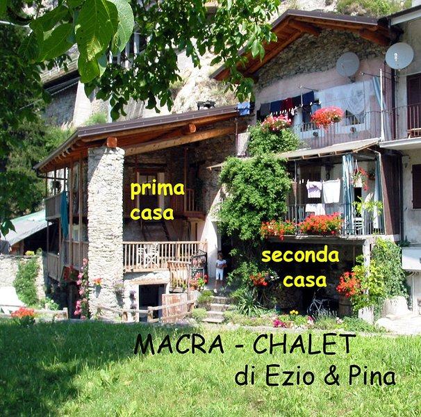 Si vous préférez MOUNTAIN nous louons aussi un chalet à Macra Valle Maira Alpes Cuneo Italie - VOIR voyage Adv