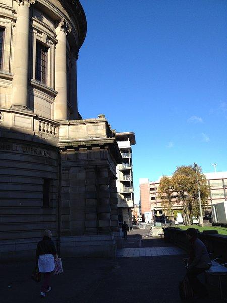 Mitchell Library - just around the corner