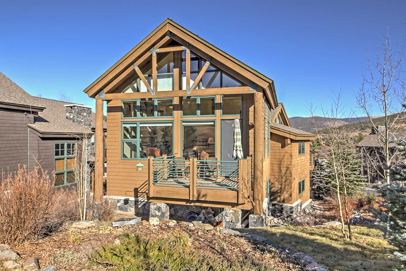 Gorgeous views abound at this Breckenridge vacation rental house!