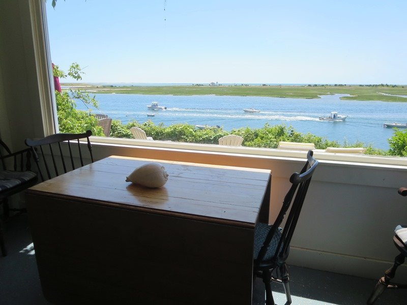 The dining room offers breathtaking views! - 30 Seabeach Road Chatham Cape Cod New England Vacation Rentals
