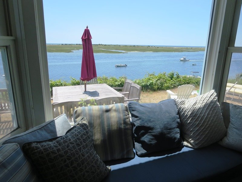 The view from the window seat! - 30 Seabeach Road Chatham Cape Cod New England Vacation Rentals