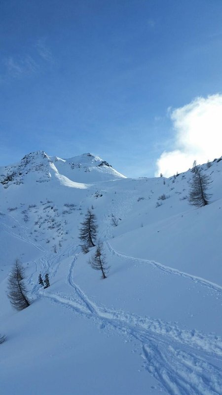 Ski slopes of San Pellegrino, 20 minute drive from the flat
