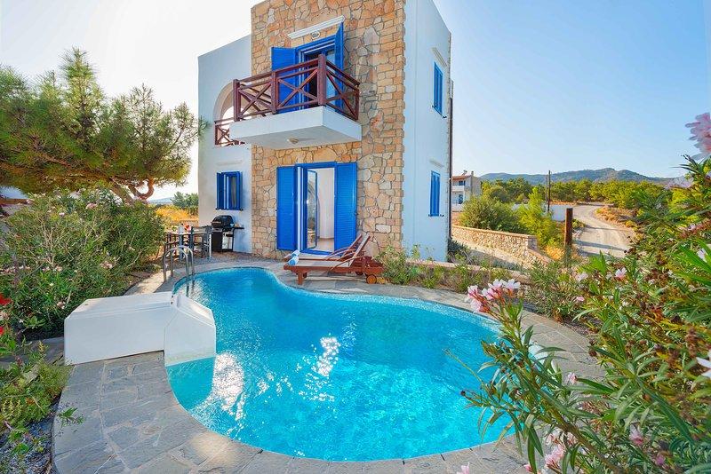 Blue Sea Villa, holiday rental in Apolakkia