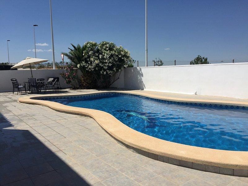 Villa Rosa, holiday rental in Alhama de Murcia