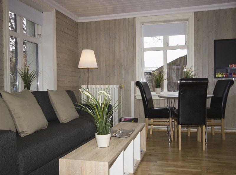 Zona de estar en la cocina / sala de estar.