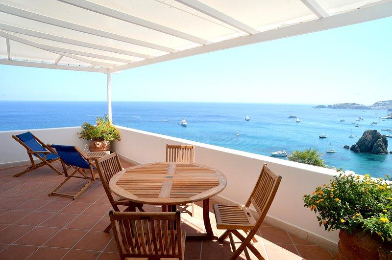 Villa sul mare, location de vacances à Île de Ponza