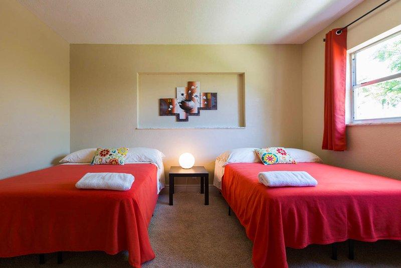 Slaapkamer 1 Twee volle bedden