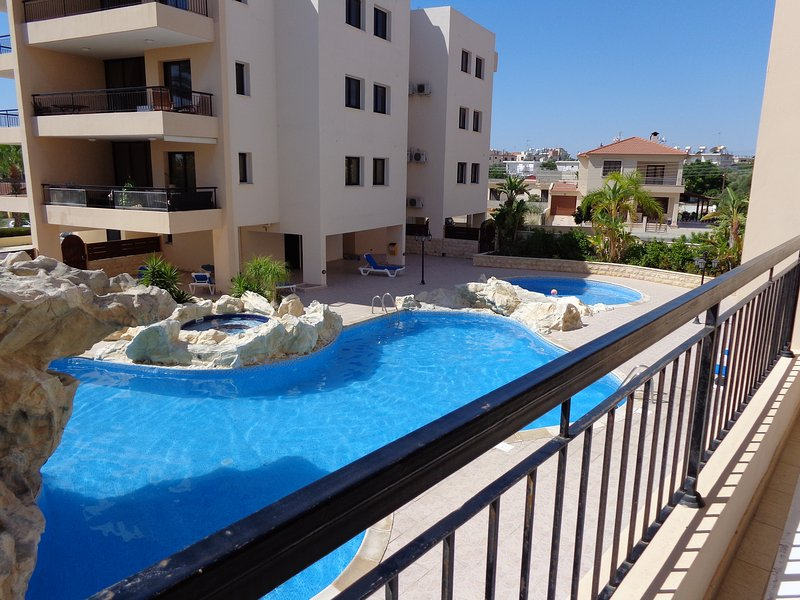 The Pool. With a Jacuzzi and a kids pool, there's something for everyone..