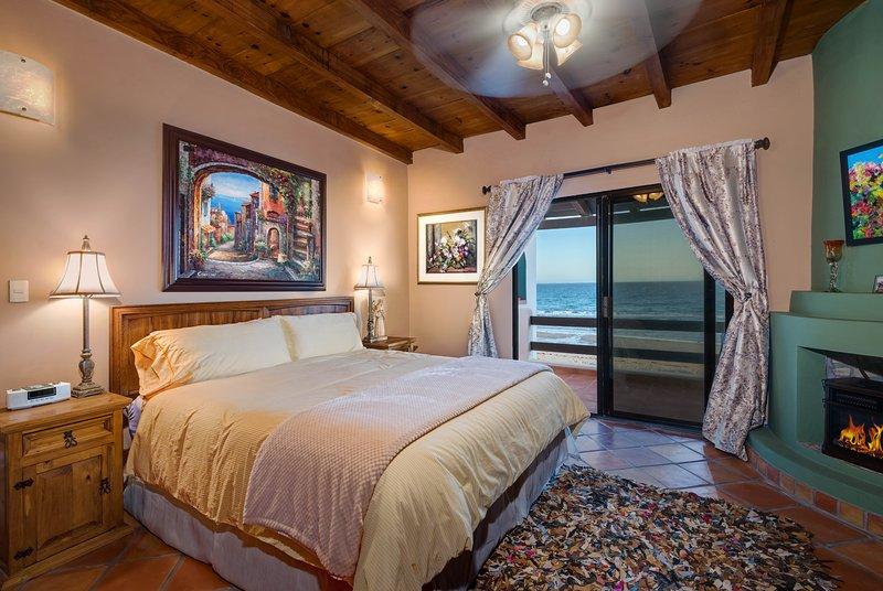 El dormitorio principal (con balcón)