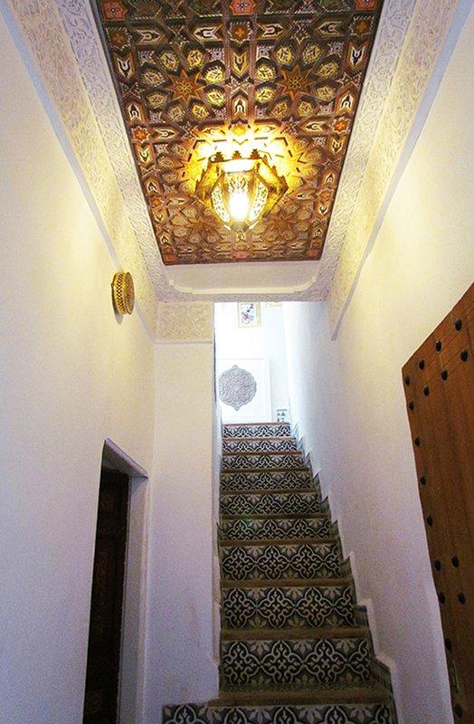 Main Entrance of the Riad