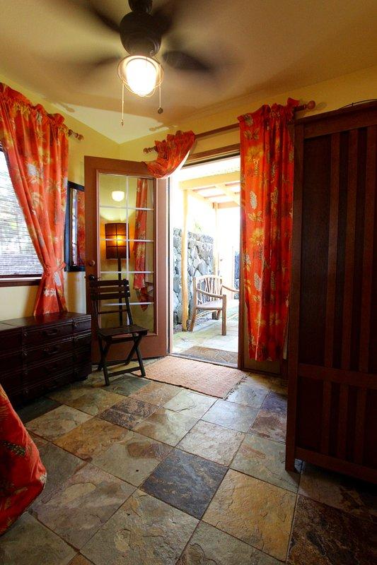 habitación individual tiene una terraza privada de su propia