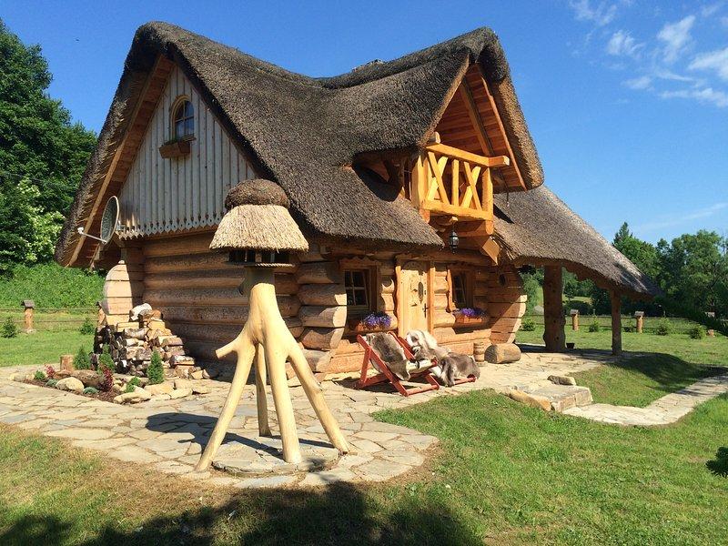 Domek 'Szyjówka', holiday rental in Haczow