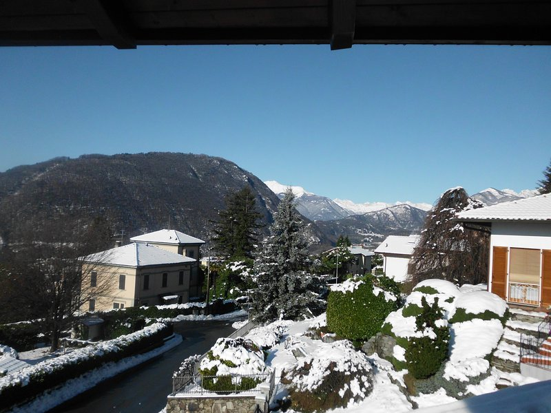 THE MONTE ROSA FROM BALCONY