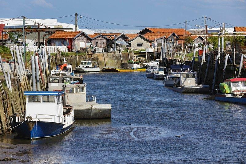αλιευτικό λιμάνι Arcachon Bay