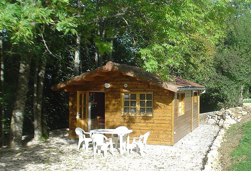 Gîte les Sources Petit Chalet, location de vacances à Saint-Julien-en-Vercors