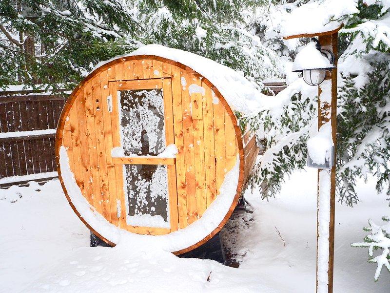 Spa Sauna House in Poconos near Lake, Kalahari, Camelback & Ski Resort, vacation rental in Pocono Summit
