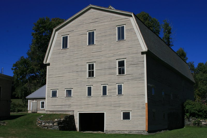 The 5-Story 'Bank' Barn is on The Vermont State Historic Registry