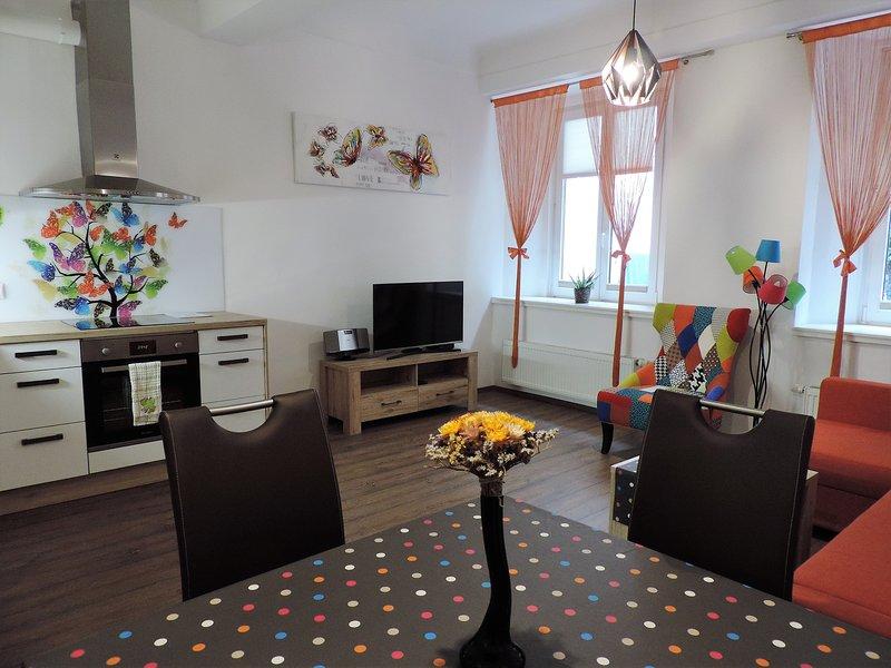 TARA old town apartment (air conditioning)-strict city center, aluguéis de temporada em Lubliana