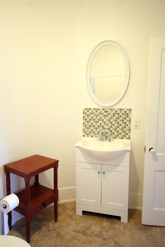 Bathroom - Everything Clean and New