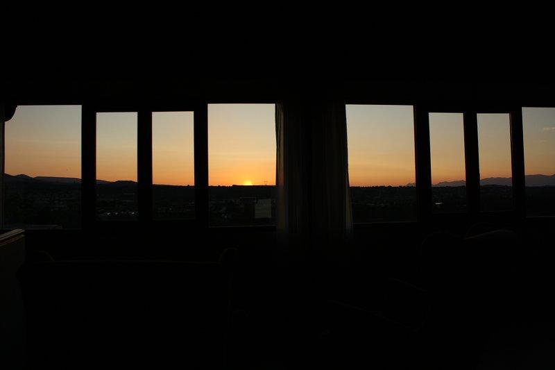 Sunset views.