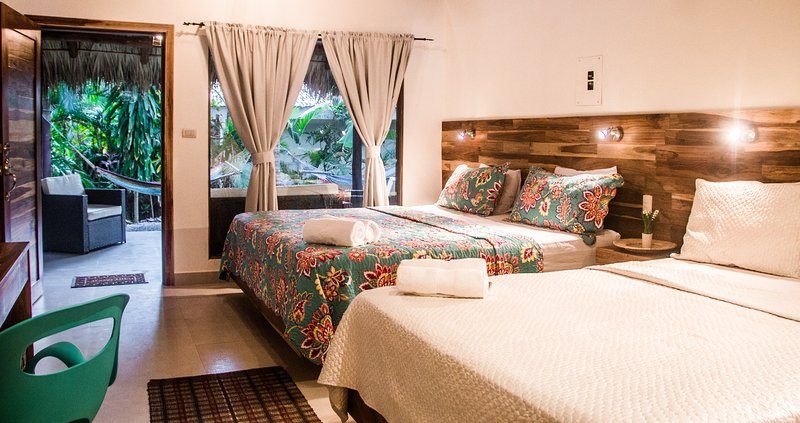 Beautiful Rom with one King and one Queen   size bed
