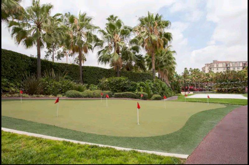 Golf et Volley-ball