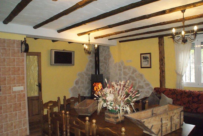 Dulce Enanto del Valle Almendro, holiday rental in Sepulveda