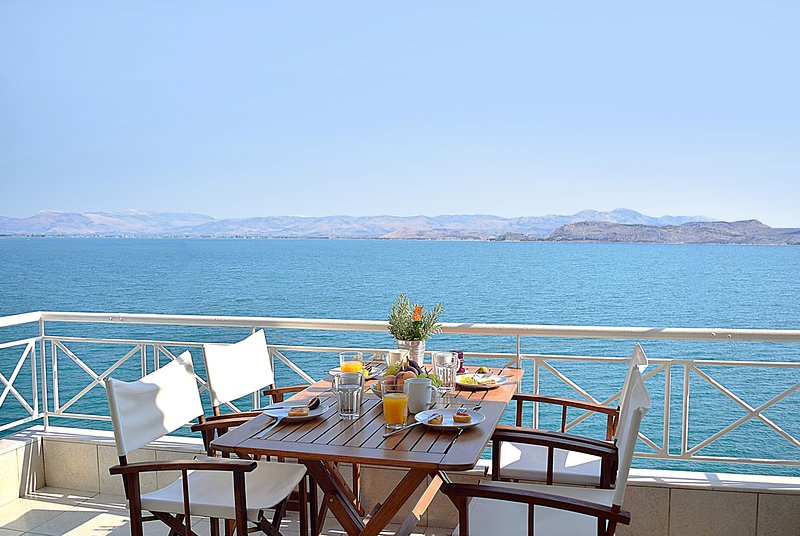 Holiday Waterfront Apartment - View from Balcony