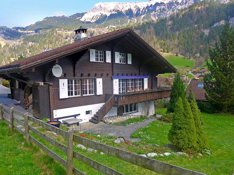 Chalet am Schärm, holiday rental in Murren