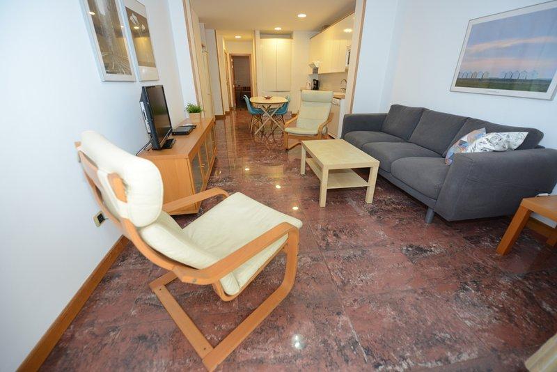 Apartamento Playa Canteras 'Gaviota 3ªplanta', aluguéis de temporada em Las Palmas de Gran Canaria